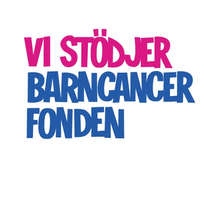 Till förmån för Barncancerfonden