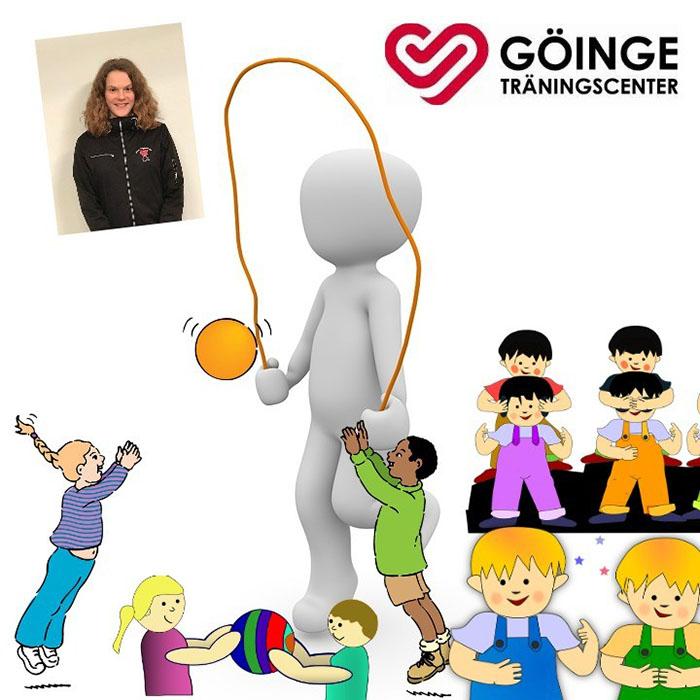 Barnträning 6-8 år med lek och rörelse!